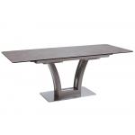 Обеденный стол FUSION-160 Керамика Мокка