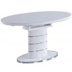 Обеденный стол LUNA-140 Белый