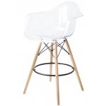 Барный стул EAMES DAW Clear прозрачный