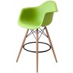 Барный стул EAMES DAW Зеленый