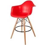 Барный стул EAMES DAW Красный