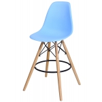 Барный стул EAMES DSW Голубой