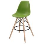 Барный стул EAMES DSW Зелёный