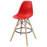 Барный стул EAMES DSW Красный
