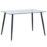 Обеденный стол DEL Прозрачный
