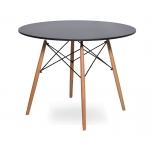 Стол Eames 4BT d110 см Черный