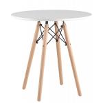 Обеденный стол EAMES DSW d70 белый