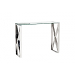 Консоль прозрачное стекло/хром 47ED-CST008/80
