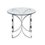 Столик стеклянный круглый GY-ET7747