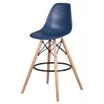 Барный стул EAMES DSW LMZL-PP638G Темно-синий