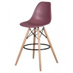 Барный стул EAMES DSW LMZL-PP638G Пыльная роза