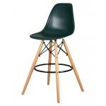 Барный стул EAMES DSW LMZL-PP638G Темно-зеленый