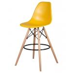 Барный стул EAMES DSW LMZL-PP638G Горчичный