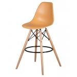 Барный стул EAMES DSW LMZL-PP638G Персиковый