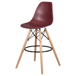 Барный стул EAMES DSW LMZL-PP638G Сливовый