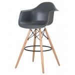 Барный стул EAMES DAW LMZL-PP620M Серый