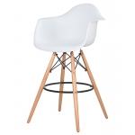 Барный стул EAMES DAW LMZL-PP620M Белый