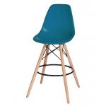 Барный стул EAMES DSW LMZL-PP638G Морская волна