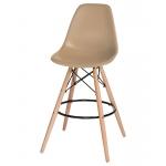 Барный стул EAMES DSW LMZL-PP638G Бежевый