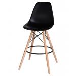 Барный стул EAMES DSW LMZL-PP638G Черный