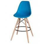 Барный стул EAMES DSW LMZL-PP638G Голубой
