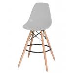 Барный стул EAMES DSW LMZL-PP638G Светло-серый
