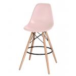 Барный стул EAMES DSW LMZL-PP638G Светло-розовый
