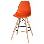 Барный стул EAMES DSW LMZL-PP638G Оранжевый