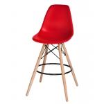 Барный стул EAMES DSW LMZL-PP638G Красный