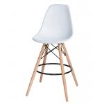 Барный стул EAMES DSW LMZL-PP638G Белый