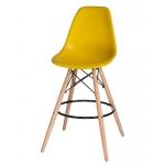 Барный стул EAMES DSW LMZL-PP638G Желтый