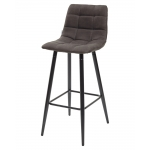 Барный стул SPICE PK-04 темно-серый, ткань микрофибра