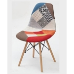 Стул MODERN-623C PATCHWORK-D3 (EAMES MAJOR)