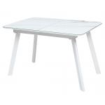 Стол ARUBA 120 GREY-WHITE/ WHITE