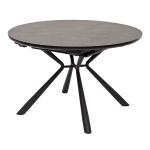 Обеденный стол VOLAND темно-серая керамика