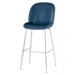 Барный стул BEETLE Маренго / хром