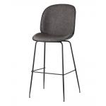 Барный стул BEETLE PU Серый