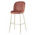 Барный стул BEETLE Пудровый