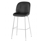 Барный стул BEETLE Серый / хром