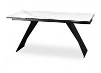 Обеденный стол ARIS Белый мрамор