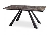 Обеденный стол SQUARE Коричневый мрамор