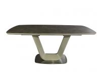 Обеденный стол OASIS-160 Керамика Мокка