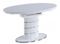 Обеденный стол LUNA-120 Белый