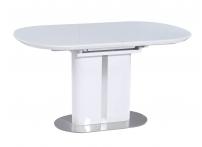 Обеденный стол DISCOVERY 140 Белый сатинированное стекло
