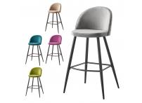 Барный стул BCR-502 велюр