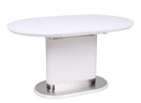 Обеденный стол LORA Белый матовый