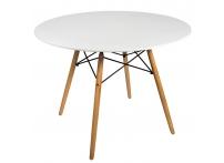Обеденный стол DARS WHITE (белый)