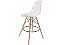 Барный стул EAMES DSW Clear прозрачный