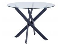 Обеденный стол PULSAR Прозрачный круглый