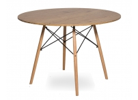 Стол Eames 4BT d100 см Деревянный